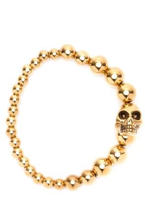 Alexander McQueen Skull Pendant Bracelet
