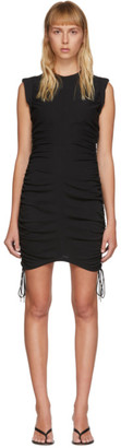 Alexander Wang Black High Twist Side Tie Dress