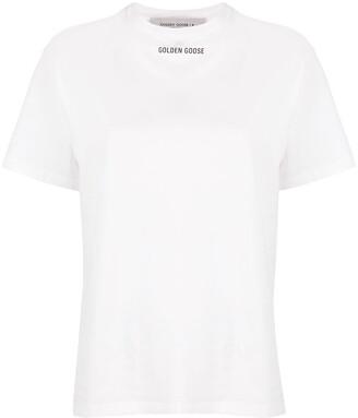 Golden Goose logo-print cotton T-shirt