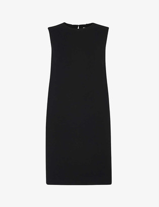 Whistles Ali stretch-crepe shift dress