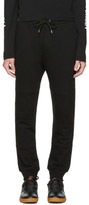 McQ Black Logo Glyph Icon Lounge Pants
