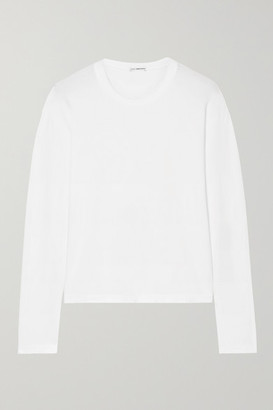 James Perse Cotton-jersey Top - White