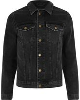 River Island Black Skinny Stretch Denim Jacket