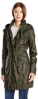 Laundry by Shelli Segal Women's Coated Cotton Anorak