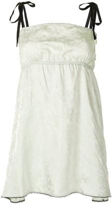 Morgan Lane Hanna square neck dress