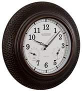 La Crosse Technology 22-Inch Hammered Copper Indoor/Outdoor Clock