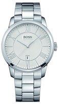 HUGO BOSS White Dial Stainless Steel Quartz Men's Watch 1512976