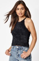KENDALL + KYLIE Kendall & Kylie Fuzzy Goddess Sweater