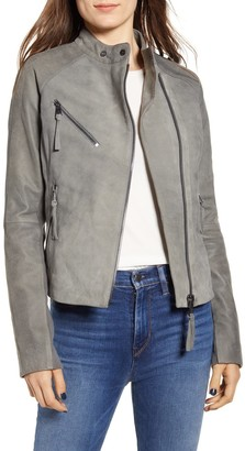 Bernardo Spessa Leather Moto Jacket