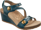 Aetrex Women's Naya Braid Wedge Sandal