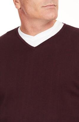 Johnny Bigg Essential V-Neck Cotton Sweater