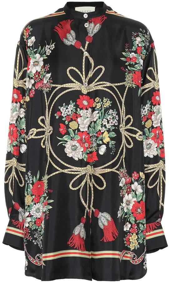 6638866e3e55 Gucci Floral Top - ShopStyle