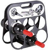 RtA 6 Bottle Wine Rack & Accessory Set