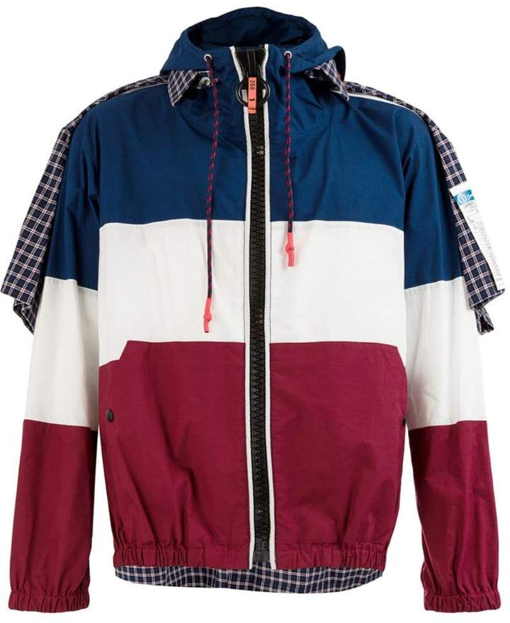 Puma Maison Yasuhiro layered colour block jacket