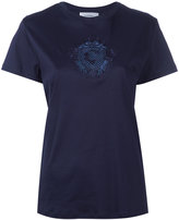 Carven embroidered motif T-shirt - women - Cotton - S