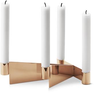 Georg Jensen Urkiola Brass-Colored Candleholder