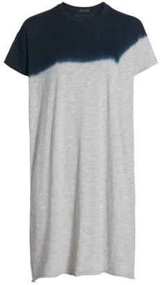 ATM Anthony Thomas Melillo Dip-Dyed T-Shirt Dress