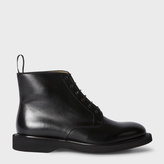 Paul Smith Men's Black Leather 'Patrick' Boots