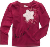 Epic Threads Mix and Match Long-Sleeve Star Appliquandeacute; T-Shirt, Little Girls (4-6X), Created for Macy's