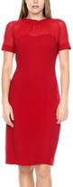 Stanzino Red Sheath Dress