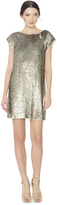 Alice + Olivia Sherry Sequin T-Shirt Dress