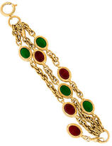 Chanel Gripoix Station Bracelet