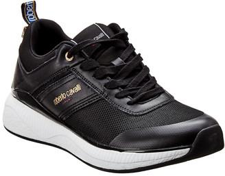 Roberto Cavalli Sport Leather Sneaker