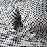 Crate & Barrel Pebble Slate Grey Sheet Sets