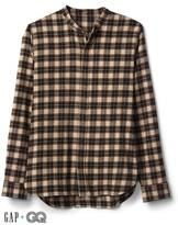 Gap + GQ UA plaid shirt