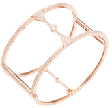 Effy 14K Rose Gold Diamond Bangle