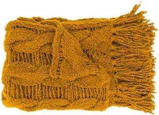 Gentry Portofino chunky knit tassel scarf