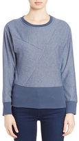 William Rast Textured Sweatshirt