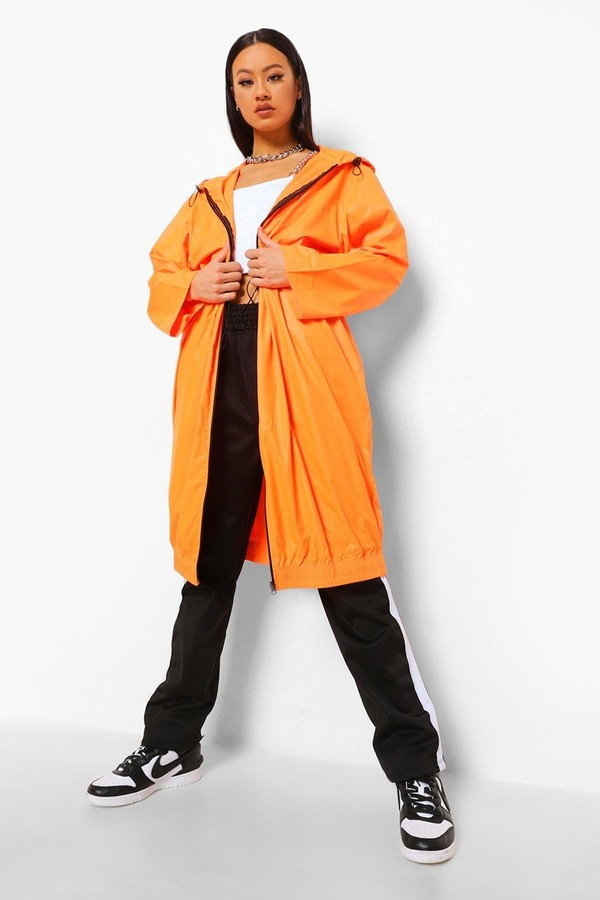 Thumbnail for your product : boohoo Longline Mac
