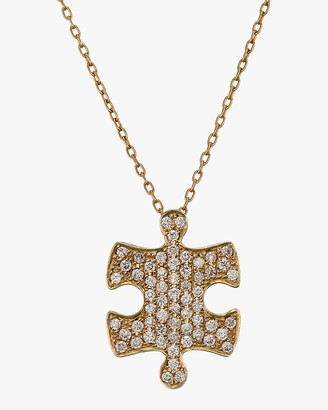 Ankha Jigsaw Puzzle Inner Pendant Necklace