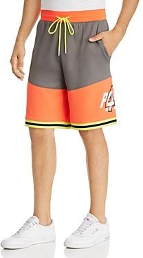 Puma Luxtg Color-Block Basketball Shorts