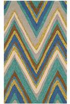 Safavieh FRS389A-2339 Four Seasons Collection Hand-Hooked Indoor/Outdoor Area Rug, 2-Feet 3-Inchx3-Feet 9-Inch