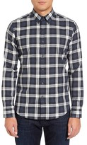 Theory Men's Sylvain Trim Fit Check Sport Shirt