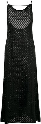 Jil Sander Crochet Open Knit Dress