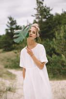 Etsy Ready to ship/ Linen dress/ Maxi dress/ Summer dress/ Milky white linen dress/ White maxi dress/ Wed