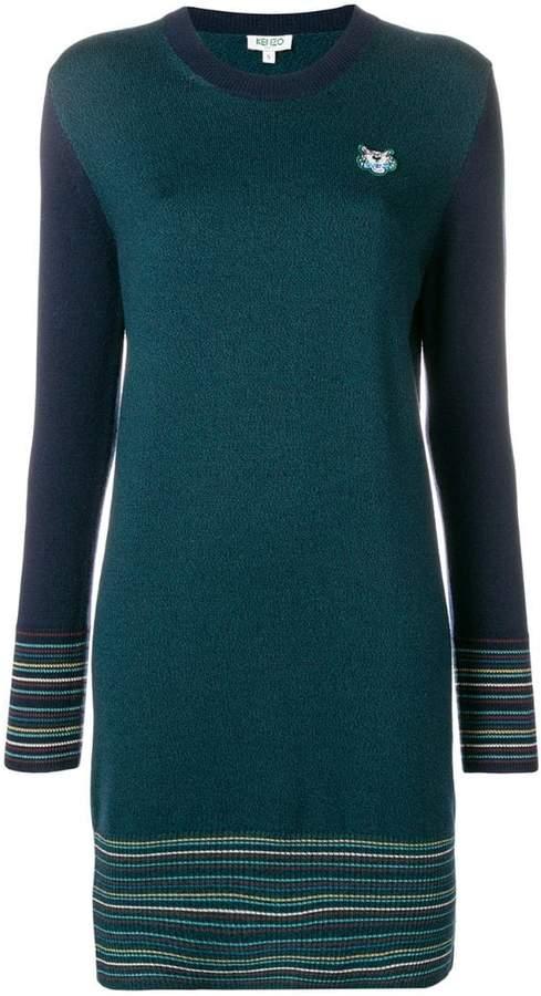 0807fa57cc0 Kenzo Long Sleeve Dresses - ShopStyle