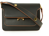 Marni Trunk mini leather cross-body bag