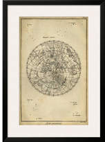 Art.com 'Antique Astronomy Chart II' by Daniel Diderot Framed Graphic Art