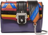 Paula Cademartori Carine paneled leather shoulder bag