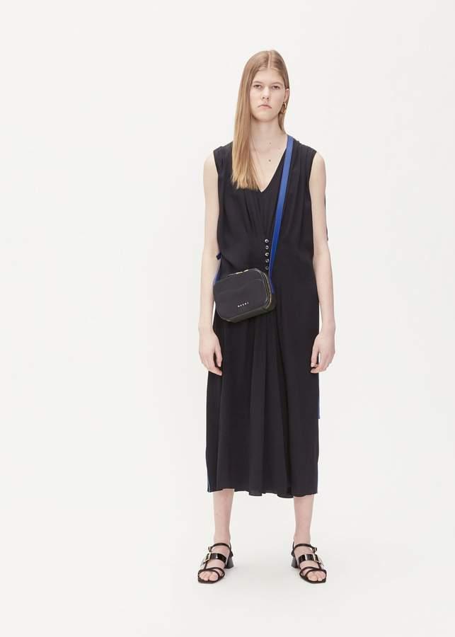 Marni Short Sleeve Cinched Dress
