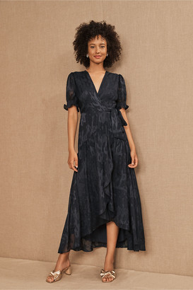 Hutch Biscayne Ruffle Wrap Dress