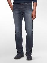 Calvin Klein Straight Leg Cool Indigo Wash Jeans