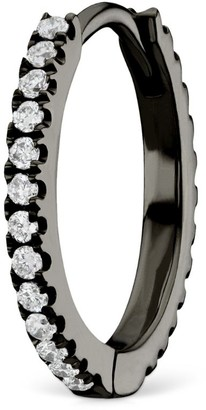 Maria Tash Diamond Eternity Hoop Earring (9.5mm)
