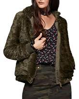 Sanctuary Chubby Faux-Fur Bomber Jacket