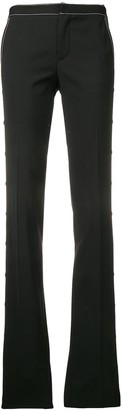 RED Valentino Contrast Stitch Bootleg Trousers