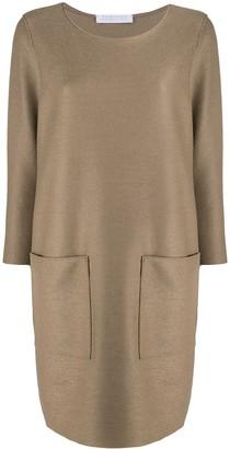 Harris Wharf London Shift Silhouette Dress